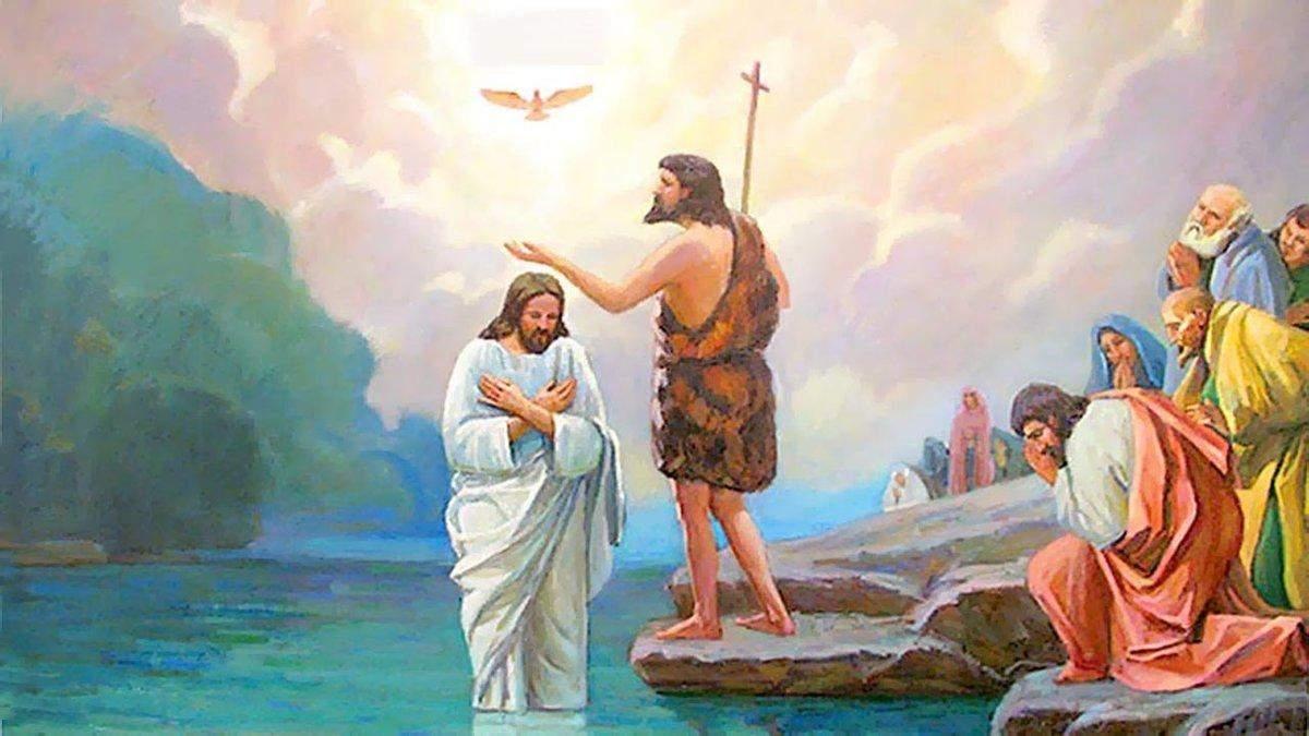 Картинки с Крещением 2021: поздравления с праздником в открытках