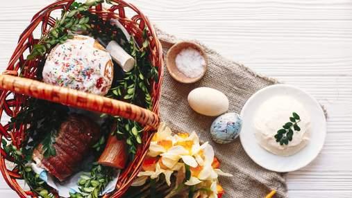 Что нужно святить на Пасху – какие продукты можно и нельзя класть в корзину